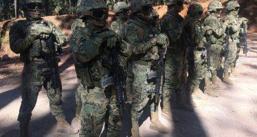 Infantería de Marina recibe adiestramiento para apoyar a población