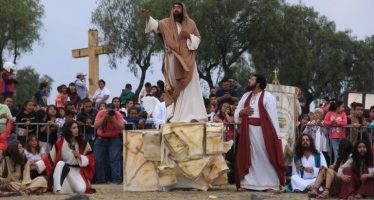 Iztapalapa se prepara para la representación de Semana Santa