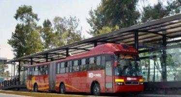 Transporte público operará con horario especial en la CDMX