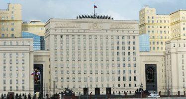 Ministerio de Defensa ruso: frustrar 3 intentos de usar armas químicas