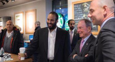 Futuro rey saudí se reúne con el lobby pro israelí