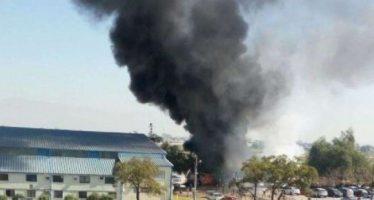 Mueren oficiales de Fuerza Aérea de Chile tras caída de aeronave