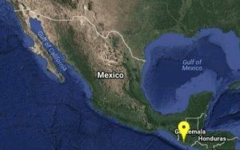 Ocurre sismo de magnitud 5.0 en Chiapas