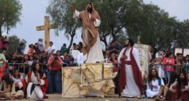 En Iztapalapa cerrarán calles por representación de Semana Santa