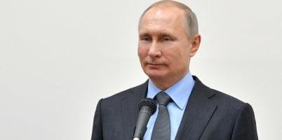 Putin marcha como favorito en elecciones presidenciales en Rusia. Foto: NOTIMEX