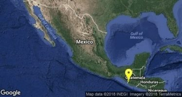 Reportan sismo de magnitud 4.4 al sureste de Salina Cruz