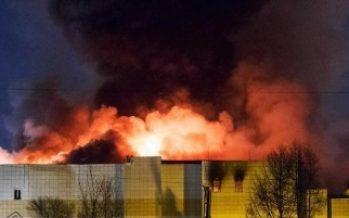 """Rusos dan """"último adiós"""" a víctimas de incendio"""