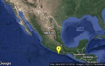 Registran sismos de magnitudes 5.0 y 4.1 enOaxaca