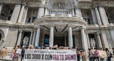 Trabajadores del INBA piden regularización en su forma de contratación