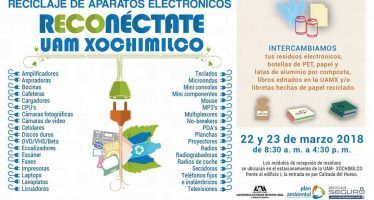 UAM Xochimilco organiza jornada de reciclaje a partir de mañana