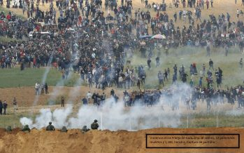 12 palestinos muertos y cientos de heridos por el Ejército israelí