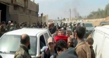 Ejército asegura salida de civiles en Ghuta Oriental