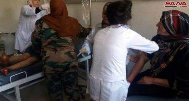 Ataque terrorista con proyectiles en la ciudad de Al Baaz