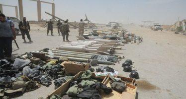 Hallan misiles estadounidenses y armas de terroristas en Siria