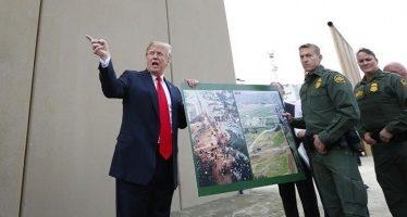 Anuncia Trump militarización de la frontera con México