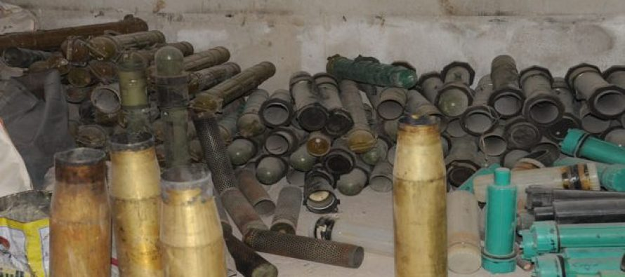 Siria encuentra arsenal de origen saudí, en Guta Oriental