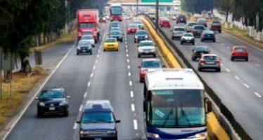 Autopista México–Pachuca presenta el mayor aforo vehicular