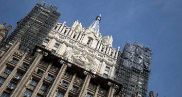 Acusaciones de ataques químicos, para proteger a terroristas: Moscú