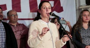Claudia Sheinbaum ofrece una CDMX con mejor infraestructura