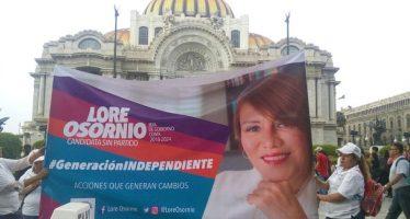 Lorena Osornio: Con trabajo en equipo la capital saldrá adelante