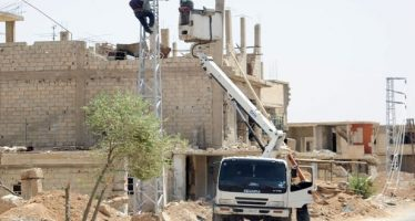 Continúan trabajo para asegurar energía eléctrica a Ghuta Oriental