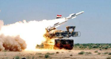 Defensa antiaérea siria repele ataques de Israel contra Homs