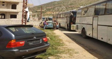 500 desplazados sirios en el Líbano vuelven a sus hogares en Damasco