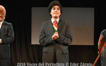 """""""Dos copetes de cuidado"""" estrenó anoche su temporada en el Foro A Poco No"""