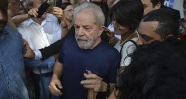 Lula da Silva pasa su primera noche en prisión