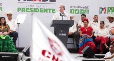 Justas, las pensiones a ex Presidentes: Meade