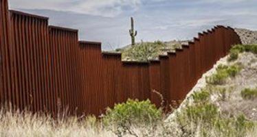 Muro militarizado de Trump, estrategia mediática