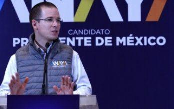 Ofrece Anaya política de apoyo a migrantes mexicanos