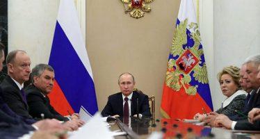 Presidente ruso realizó contactos con varios mandatarios mundiales