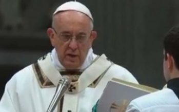 Papa critica a quienes calculan pros y contra antes de hacer el bien