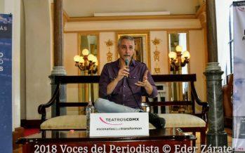 Pedro Aznar celebra su carrera artística en el Teatro de la Ciudad Esperanza iris