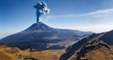 Popocatépetl presenta anomalías térmicas e incandescencia