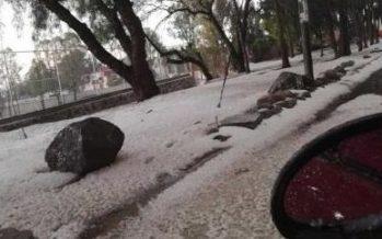 Prevén fuertes lluvias y granizo en el sur y oriente de la capital