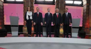 Primer debate: guerra de lodo; prevalecen ataques contra AMLO