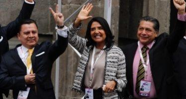 Promete Alejandra Barrales sacar a la delincuencia de Iztapalapa