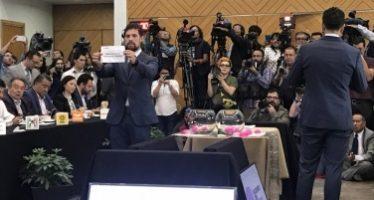 Realiza INE sorteo de candidatos presidenciales en debate