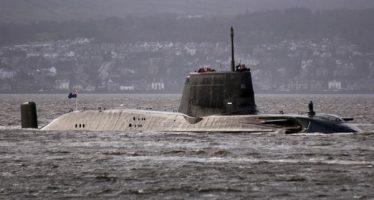 Rusia impidió a submarino británico atacar Siria