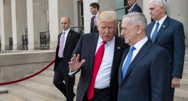 Trump puede atacar a Siria, sin aval del Congreso: Mattis