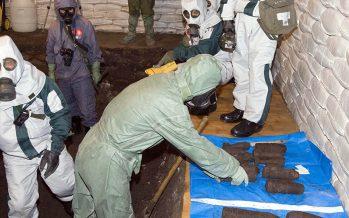Ejército ruso descubre arsenal químico terrorista, en Duma