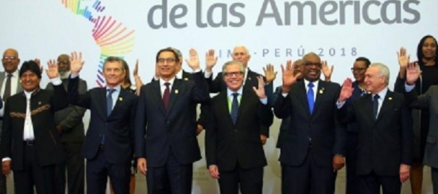 Finaliza Cumbre de las Américas tras almuerzo de gobernantes