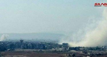 Ejército intensifica bombardeos contra Hayyar Asswad