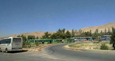 Se reanuda proceso de salida de terroristas hacia Jarablus