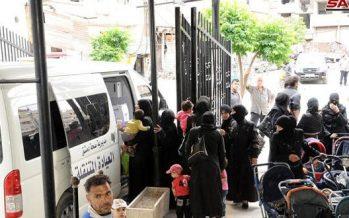 86 mil vecinos de Ghouta Oriental recibieron servicios médicos