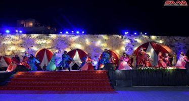 Festival de Primavera en la provincia de Hama