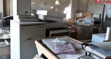 Ejército halla hospitales y equipamientos médicos en Erbín