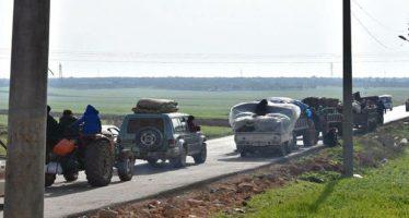 70 personas de Efrin escapan del terror del régimen turco a Hasaka